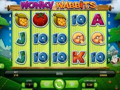 Wonky Wabbits is a 5 reel and 15 payline slot game from Net Entertainment. http://www.gamblingland.com/onlineslots/wonky-wabbits.asp