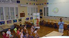 3° groupe, les requins : SUPER rencontre avec un nouveau groupe d'enfants !  Nous avons proposé aux enfants une initiation aux économies d'énergie, d'eau . Et nous avons diffusé les éco-gestes à adopter aux quotidien dans le logement ! © Azzura Lights - Tous Droits Réservés.