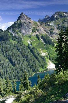 Pacific Crest Trail, Snoqualmie Pass to Stevens Pass - East, Washington