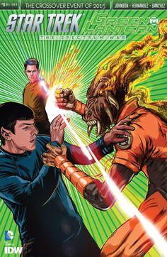Star Trek/Green Lantern #3 #IDW #DC #StarTrek #GreenLantern Release Date: 9/9/2015
