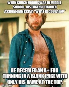 Chuck Norris memes facebook