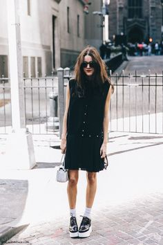 New_York_Fashion_Week-Spring_Summer-2016-Street-Style-Jessica_Minkoff-Diesel_Black_And_Gold-4