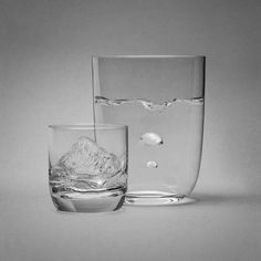 work by ©jockeono Glass Of Milk, Vase, Projects, Home Decor, Homemade Home Decor, Interior Design, Jars, Home Interiors, Vases