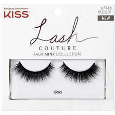 1cdac576ab3 KISS Lash Couture Faux Mink, Gala - Lavishly dense lashes that lend a  sultry, glamorous look.