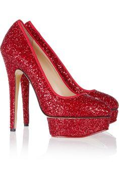 Red High Heels | Dream Closet! | Pinterest