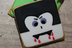Cake Whiz | Cookies - How to make Dracula cookies.