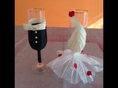 Sencilla decoración botella para bodas Simple bottle decoration for weddings - YouTube