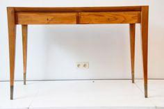 furniture oak desk by Gio Ponti