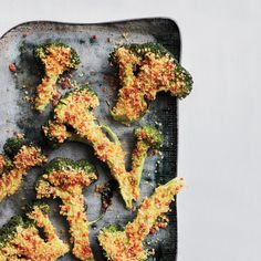 The genius idea here is pulsing sliced pepperoni with bread crumbs to add a ton of extra flavor and a great crunch to broccoli.