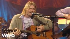 Music video by Nirvana performing About A Girl. (C) 1994 Geffen Records Kurt Cobain, Donald Cobain, Music Songs, My Music, Music Videos, Soul Music, Foo Fighters Nirvana, Mtv Unplugged, Little Girls
