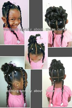 Black Toddler Hairstyles Curlykidshaircare's Photo On Instagram  Little Girl Natural Hair