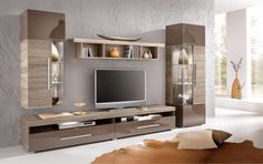 Siesta Tv Ünitesi Ünitechi Home Furniture Wall Unit Designs, Living Room Tv Unit Designs, Tv Wall Design, Tv Unit Furniture, Home Furniture, Muebles Rack Tv, Living Room Modern, Living Room Decor, Tv Unit Decor