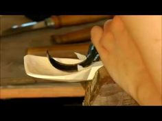 The Woodcraft Series - Spoon Carving, Anna Casserley - YouTube