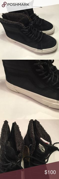 Vans mountain edition warm lining sneaker Vans mountain edition warm lining weatherized sneaker with thermal heat retention layer between outside and sockliner off the wall no trades vans  Shoes Sneakers