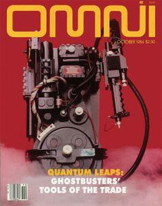 Ghost Busters - Omni / 1980's Pop cultue / Retro Magazine Cover / Sci Fi Film / Movie