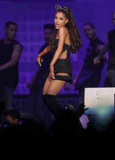 Ariana Grande – 'The Honeymoon Tour' in Anaheim Ariana Grande Legs, Ariana Tour, Independent Women, Light Of My Life, S Pic, Evolution, Love Her, Wonder Woman, Tours