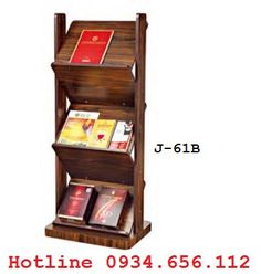 Kệ để tạp chí, giá để báo bằng gỗ giá rẻ - 2690000 | Nhật tảo