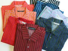 "Colorful ""Jokapoika"" stripe shirts by Marimekko"