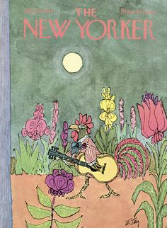 The New Yorker - Saturday, July 29, 1972 - Issue # 2476 - Vol. 48 - N° 23 - Cover by : William Steig