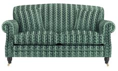 Aldsworth sofa in Zoffany verdure velvet, Wesley-Barrell