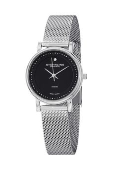 Shop for Stuhrling Original Women's Lady Casatorra Elite Diamond Swiss Quartz Bracelet Watch. Get free delivery On EVERYTHING* Overstock - Your Online Watches Store! Stainless Steel Mesh, Stainless Steel Bracelet, Mesh Bracelet, Bracelet Watch, Discount Watches, Online Watch Store, Boutique, Watch Sale, Bracelets For Men