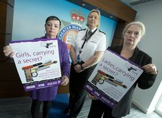 Pat Erdmann, ACC Debbie Ford and DCI Debbie Dooley launch the campaign. Police in Greater Manchester are appealing for girlfriends, sisters and mothers of those involved in firearms criminality to come forward as part of a new campaign to tackle gun crime. 'Girls against guns' urges those closest to offenders not to become an accessory to crime and tell police about anyone they know who is in possession of a gun or involved in gang-related activity. www.gmp.police.uk