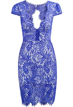 Shop Blue Deep V Neck Short Sleeve Lace Dress online. SheIn offers Blue Deep V Neck Short Sleeve Lace Dress & more to fit your fashionable needs. Pretty Dresses, Sexy Dresses, Beautiful Dresses, Fashion Dresses, Short Sleeve Dresses, Long Sleeve, Long Dresses, Dress Long, Vestidos Sexy