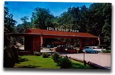 Vintage postcards from Idlewild Park, Ligonier PA