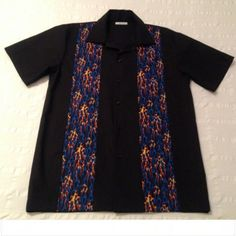 Camisa bolera Blue Blues