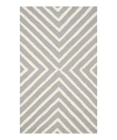 Silver Malibu Wool Rug on #zulily! #zulilyfinds $34.99