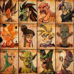 Throwback thursday is still a thing right? These #DragonBall #sketchcards were SO much fun, I shall do a new batch soon! #dragonball #sketch #2d #photoshop #goku #tien #cell #freezer #piccolo #gohan #chichi #krilin #nappa #vegeta #raditz #trunks #toriyama #akiratoriyama #art #illustration #characterdesign #javas #javierburgos #tbt #throwbackthursday