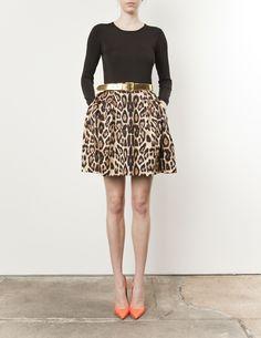 cheetah/orange