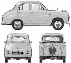 Austin Cars, Blue Prints, Car Sketch, S Car, Motor Company, Line Drawing, Motor Car, Cars And Motorcycles, Vintage Cars