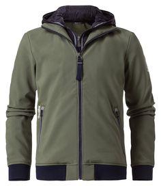 Afbeeldingsresultaat voor softshell jas gaastra groen