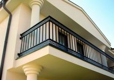 Shri Ram Steel Craft offered Wrought Iron Balcony Railing at nationwide. If you want then you can install wrought iron balcony at your home. Save time and money on wrought iron balcony, wrought iron r Balcony Grill Design, Balcony Railing Design, Window Grill Design, Staircase Design, Stair Design, Iron Window Grill, Steel Railing Design, Iron Stair Railing, Deck Railings