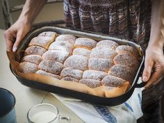 Všetky recepty - Zo srdca do hrnca Chia Puding, Home Baking, Sweet Recipes, Catering, Food And Drink, Sweets, Bread, Candy, Hampers