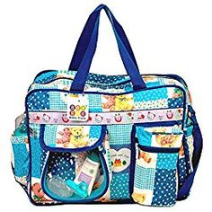 Diaper Bag By Bey Bee - Diaper Bag Tote Blue
