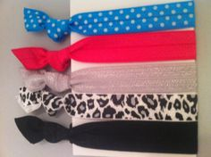 Spring fling in Sassy Knots Hair Ties and Accessories