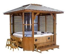 hot tub enclosure ideas hot tub enclosure hot tub enclosure with roof kit by - Hot Tub Enclosures