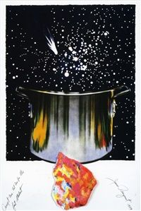 Caught One, Lost One, For the Fast Student by James Rosenquist