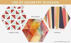 use of geometry in design: Trends 2013
