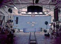First Season Enterprise in Studio Long Rear View