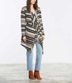BB Dakota Sparrow Blanket Coat in Oatmeal
