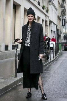 Street style from Couture fashion week   Never Underdressed