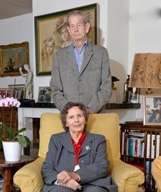 """"""" A new photo of King Mihai I and Queen Anne, who became 90 yesterday. Courtesy princeradublog.ro """""""