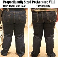 How to buy jeans if you are plus sized... oh man. I'm so ...