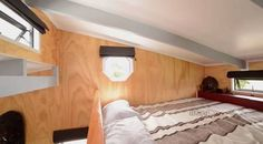 No need to duck. Plenty of head-room plus great ventilation. Living Big In A Tiny House