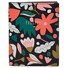 Fossil Rfid Leather Passport Case ($55) ❤ liked on Polyvore featuring bags and luggage