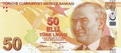 Matawang Turki (50 Türk Lirası).                     Nama Mata Wang:    Turkish Lira      Kod ISO 4217:    TRY      Ibu negara:    Ankara ...