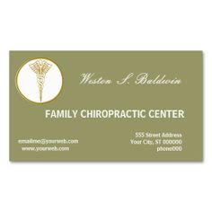 240 best medical health business cards images on pinterest card business card doctors eco sage green reheart Image collections